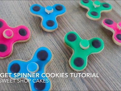 How to: Fidget Spinner Cookies Tutorial (YES THEY SPIN!) | Sweet Shop Cakes