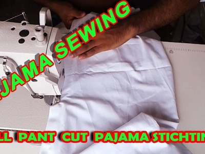►How to Gents Pant Cut Pajama Stitching | Pajama sewing Full  | পাজামা সেলাই | OBSESS Tailars