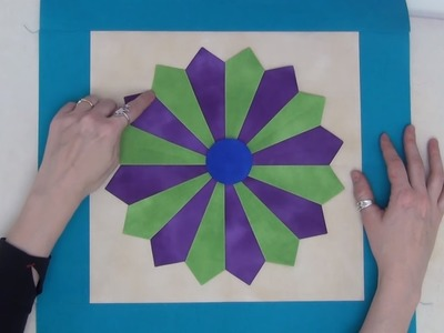 How to Make a Dainty Dresden Plate Quilt Block - Beginner Quilting Tutorial with Leah Day