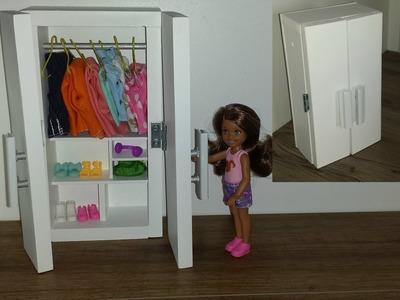 How to make a Doll Closet