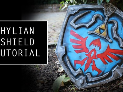 How to make a Hylian Shield- tutorial