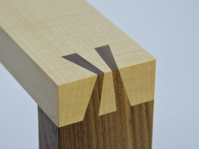 How to make a Japanese Sunrise dovetail joint. By Theo Cook. Tutor at Robinson House Studio School