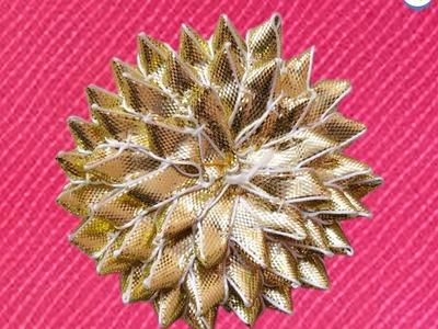 How To Make Basic Gota Flower For Bridal Jewellery - Episode 1 by Jyoti Sachdeva .