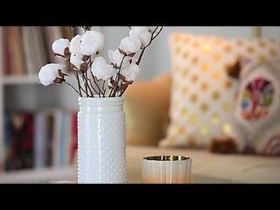 How to Make DIY Cotton Stems - HGTV