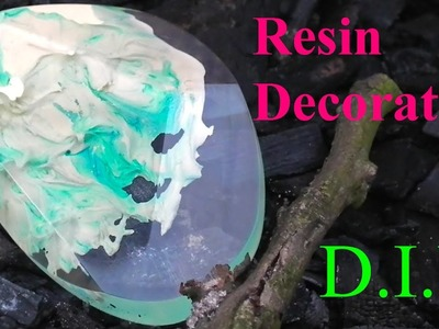 How to make Resin Decoration. DIY