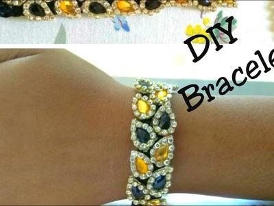 How to make silk thread bracelet at home | DIY bracelet | Bracelet making