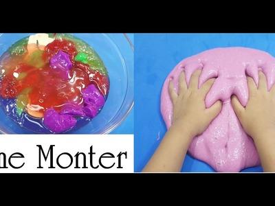 How To Make Slime Giant ! Mixing Slime ! Slime Monter