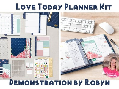 How to Use Stampin' Up!'s Love Today Planner Kit by Robyn Cardon
