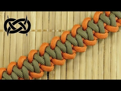How to weave a Modified Shark Jaw Bone Paracord Bracelet