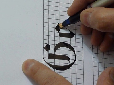 """How to Write """"G & g"""" in Gothic style"""