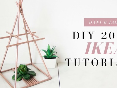 IKEA DIY hacks 2017 [Dollar Tree DIY Project] | DaNi B. Jade