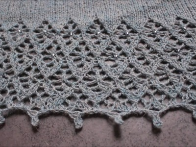 Knitted Picot Bind off
