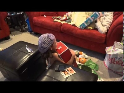 Little Girl Cries When She Gets American Girl Doll