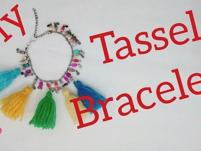 M.S. Dhoni movie's multi coloured tassel friendship bracelet