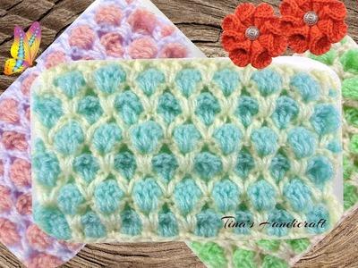 Maroccan crochet stitch No38