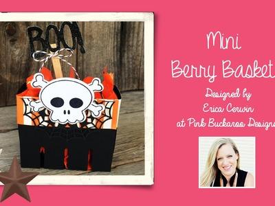 Mini Stampin' Up Berry Basket