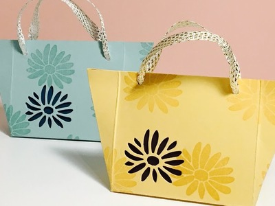 Mini Tote Bag Gift Bag - Video Tutorial Using Special Reason from Stampin' Up