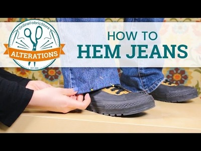 OFS Alterations: How to Hem Jeans