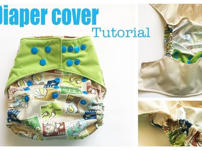 One Size Diaper Cover Tutorial Flip Style with Leg Gussets -The290ss