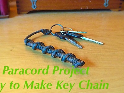 Paracord Project: Easy to Make Key Chain