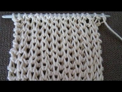 Pletenje - Normalni patent bod; Knitting Tutorial - Fisherman's Rib in the Round