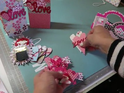 Project Share!  Valentine's Treat Bags, Embellishments and More :)