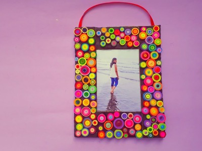 Quilling Photo frame - Tutorial