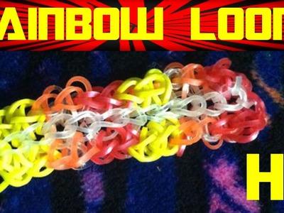 Rainbow Loom CHARMS | LOOM BANDS | Rainbow Loom Bracelet | Animals EASY How to Loom DIY HD Starburst