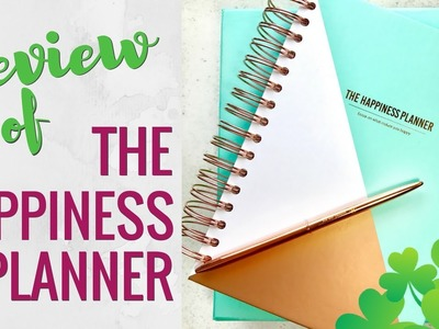 """Review of """"The Happiness Planner"""" 2017.'18: Unboxing (Extras?!) & Flip-Through"""
