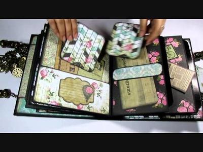 Romance Novel Handbag Mini album