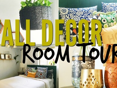 Room Tour  + Fall Decor | Pinterest Inspired