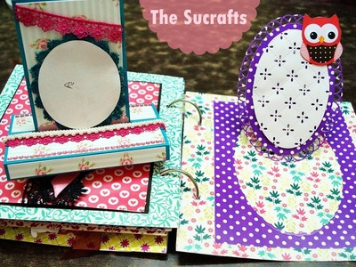 Scrapbook and Double Trishutter Card