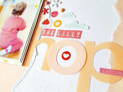 Scrapbooking Process- The Lilly Hop (The Doctors Are In)