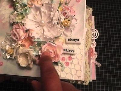 Shabby Chic Mini Album - Heidi Swapp Dreamy