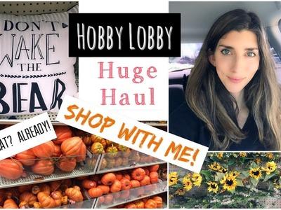 Shop With Me HOBBY LOBBY + HUGE HAUL | Farmhouse Decor | Momma from scratch