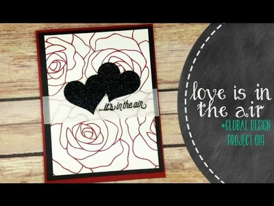 Simple Valentine's Day Card With Stampin' Up Rose Wonder