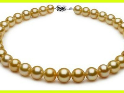 South Sea Pearls Gold Beads Designs