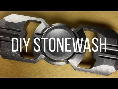 SPINNER STONEWASH DIY TUTORIAL