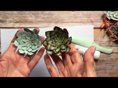 Stampin' Up! Succulent Planter