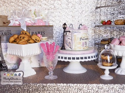 Stunning Paris themed party decorating ideas