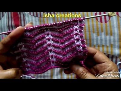 Sweater Design Pattern for Baby or Kids or Ladies Kardigan in Hindi   Sweater ki  Bunai