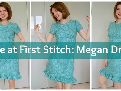 Tilly and the Buttons Megan Dress with a Ruffle Hack
