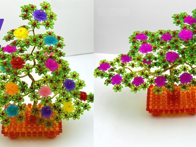 水晶串珠 植物類飾品 牡丹花發財樹 4.4
