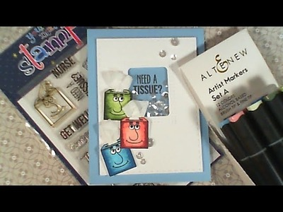 Try It Out Tuesday. Your Next Stamp. Altenew Artist Markers. C&CT