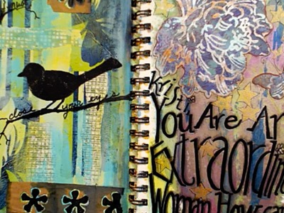What is Art Journaling?? with Barb Owen - HowtoGetCreative.com