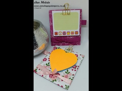 #6 New Catalogue Week, cute Mini Clipboard for sticky notes