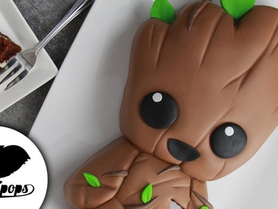 Baby Groot Cake | Guardians of the Galaxy Vol. 2| Marvel Party Ideas | DIY & How To