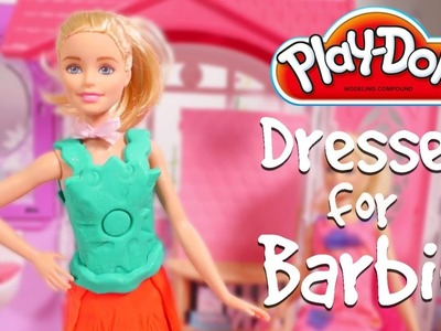Barbie Videos for Girls Play Doh Dresses for Barbie Dolls Play Doh DIY dresses