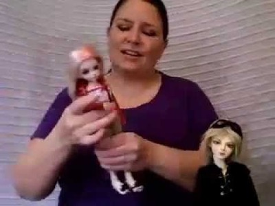 BJD Tutorials - How to wire a ball jointed doll