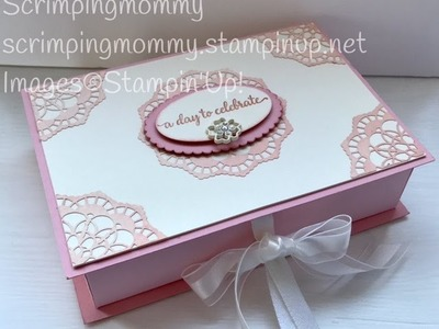 Book style memory keepsake box Stampin' Up! Products